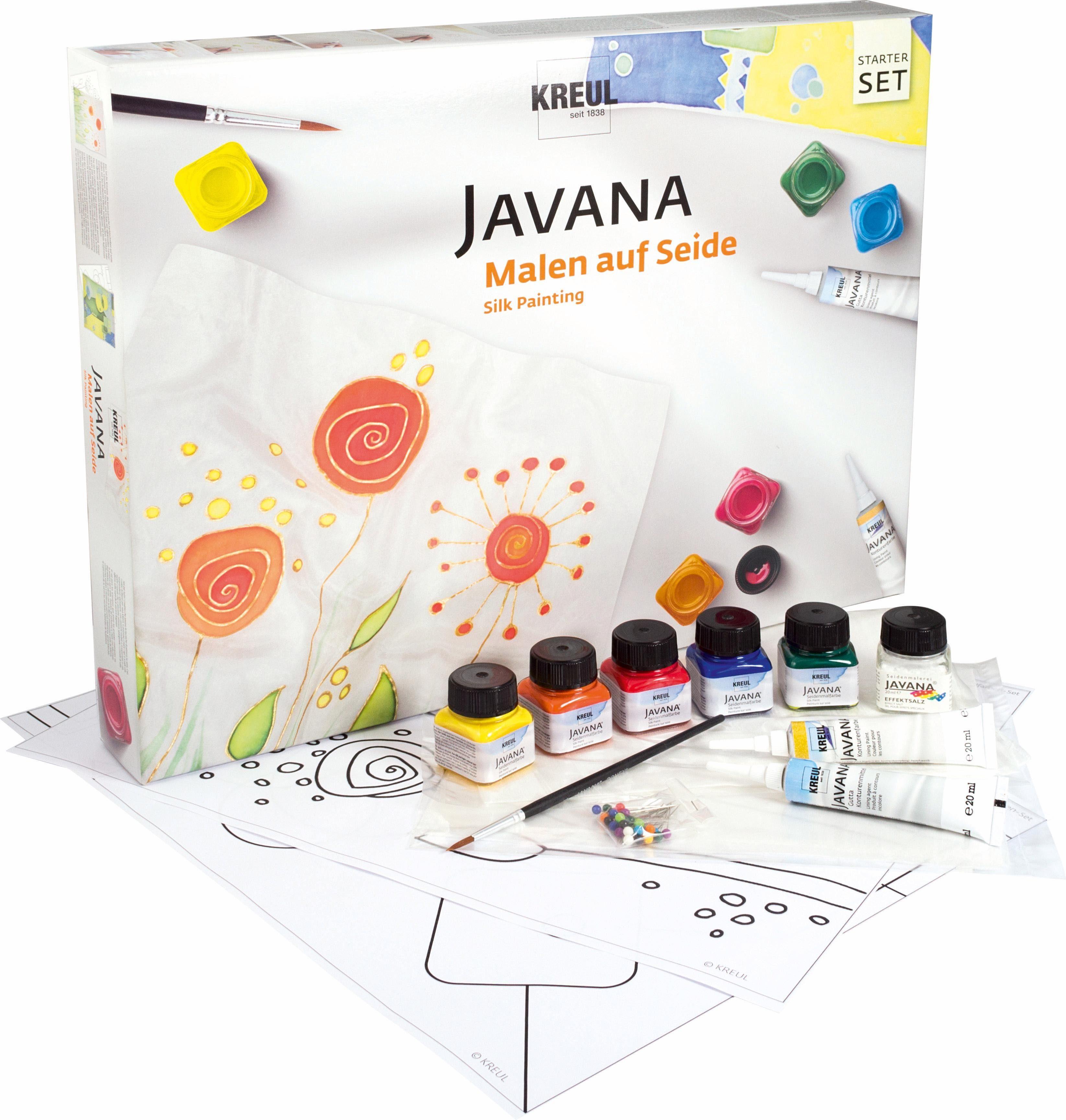KREUL Seidenmalfarbe, »Javana, Malen auf Seide Starter Set«