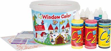 kreul fensterfarben window color c2 set powerpack 7er. Black Bedroom Furniture Sets. Home Design Ideas