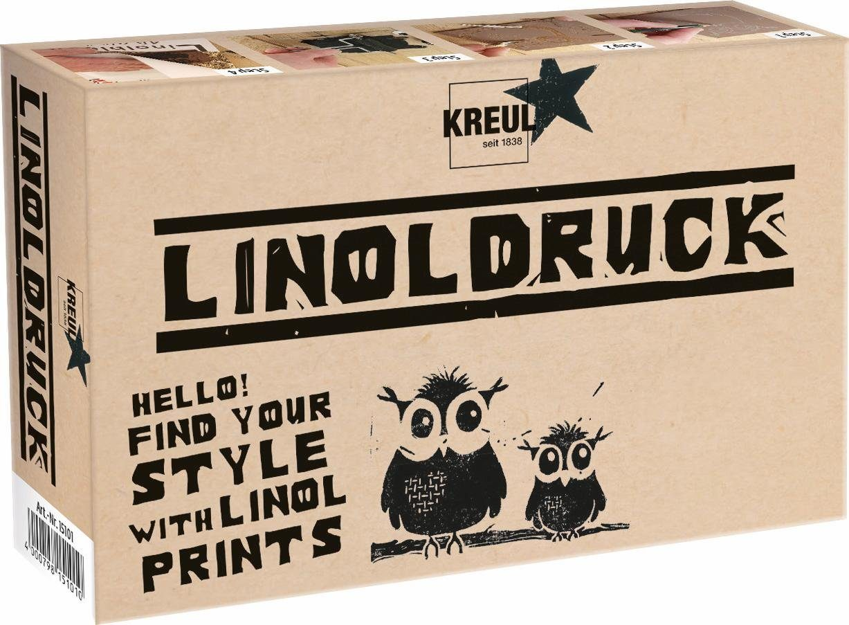 KREUL Stempeldruck, »Linoldruck Set«