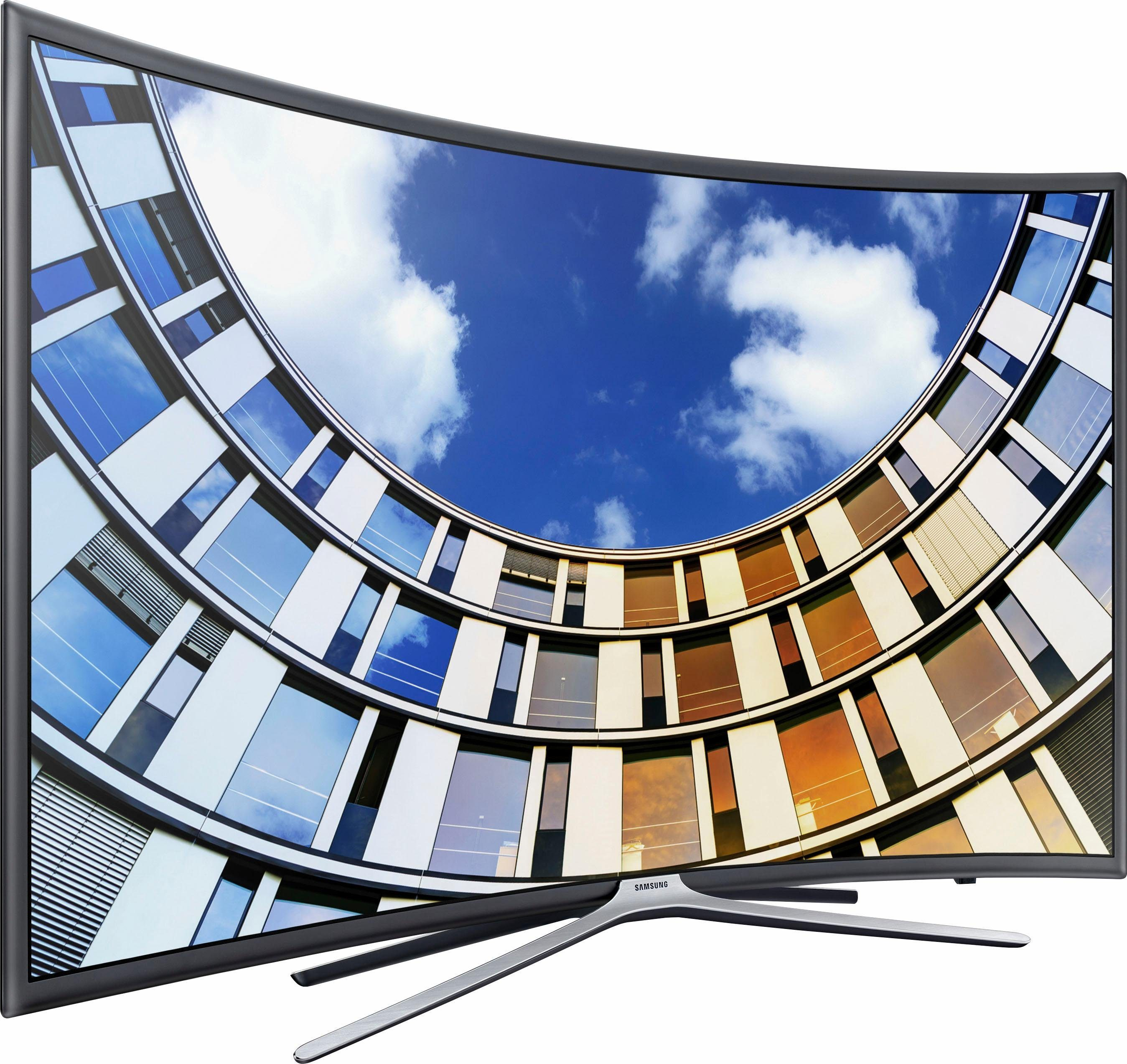 Samsung UE49M6399AUXZG Curved-LED-Fernseher (123 cm/49 Zoll, Full HD, Smart-TV)
