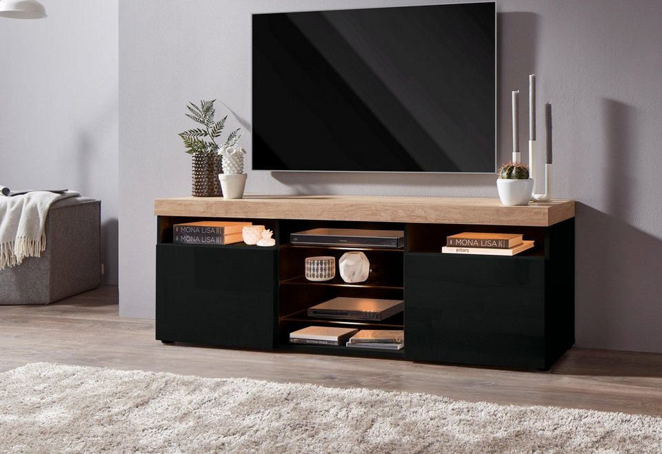 borchardt m bel lowboard breite 146 cm kaufen otto. Black Bedroom Furniture Sets. Home Design Ideas