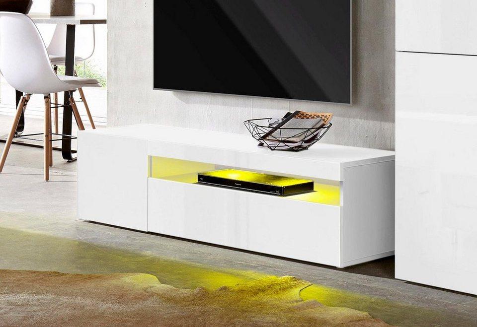 tecnos lowboard breite 130 cm online kaufen otto. Black Bedroom Furniture Sets. Home Design Ideas