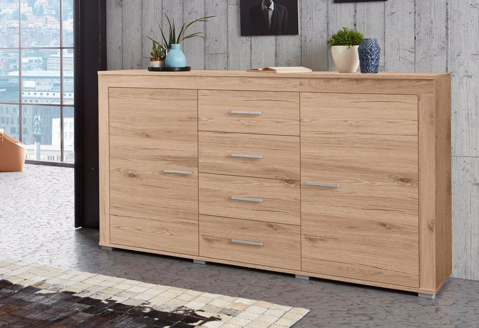 sideboard breite 160 cm online kaufen otto. Black Bedroom Furniture Sets. Home Design Ideas