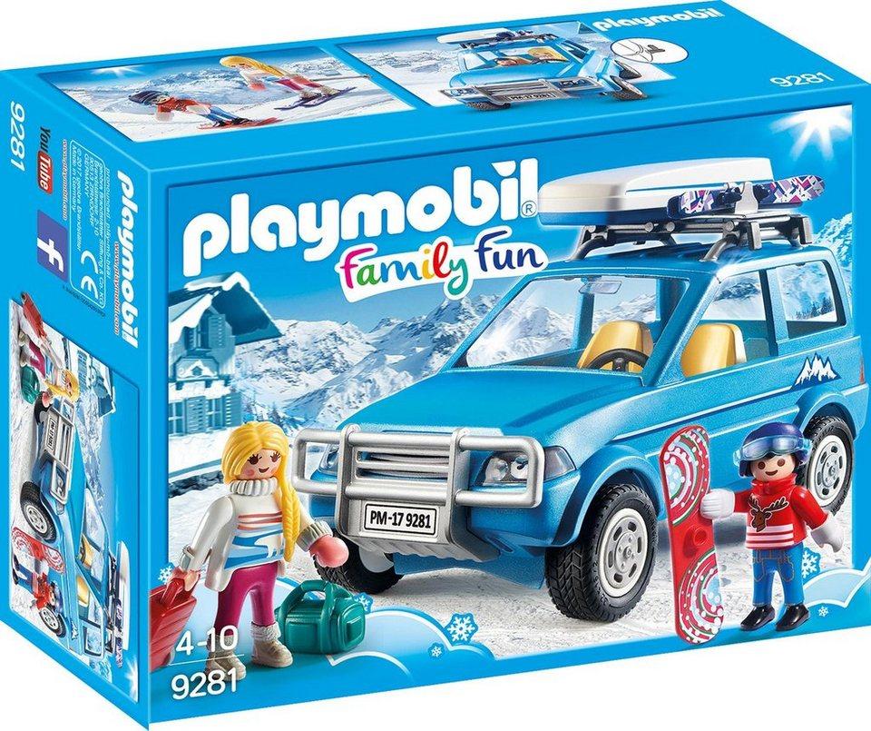 Playmobil® Auto mit Dachbox (9281),  Family Fun