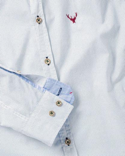 pure Hemd mit Punkten