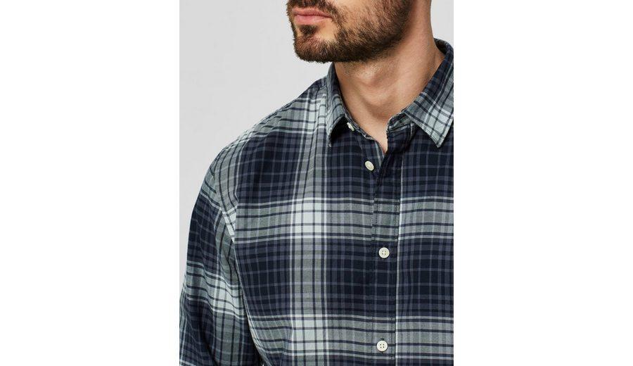 Selected Homme Slim-Fit- Langarmhemd Rabatt-Codes Online-Shopping Empfehlen Rabatt Spielraum Beste Geschäft Zu Bekommen ziYfkiX