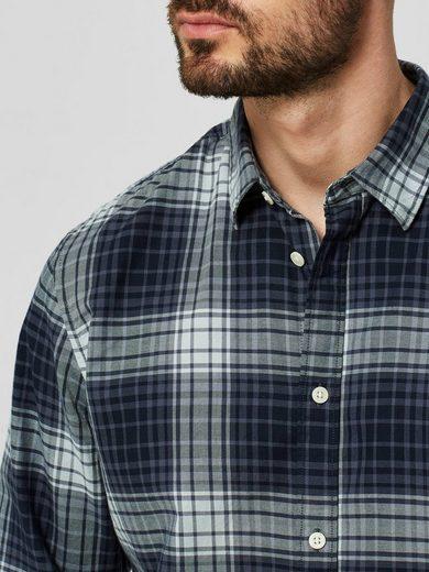 Selected Homme Slim-Fit- Langarmhemd