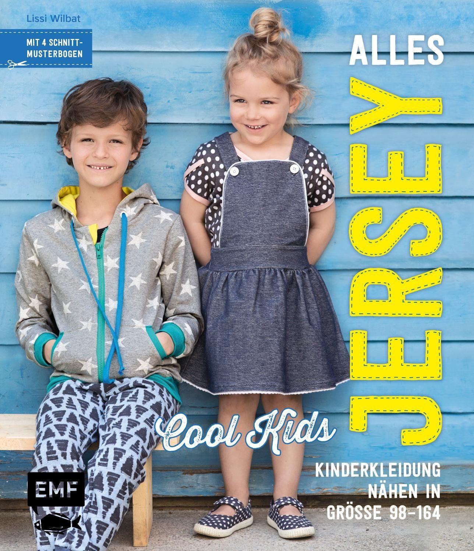 """EMF Buch """"Alles Jersey - Cool Kids"""" 144 Seiten"""
