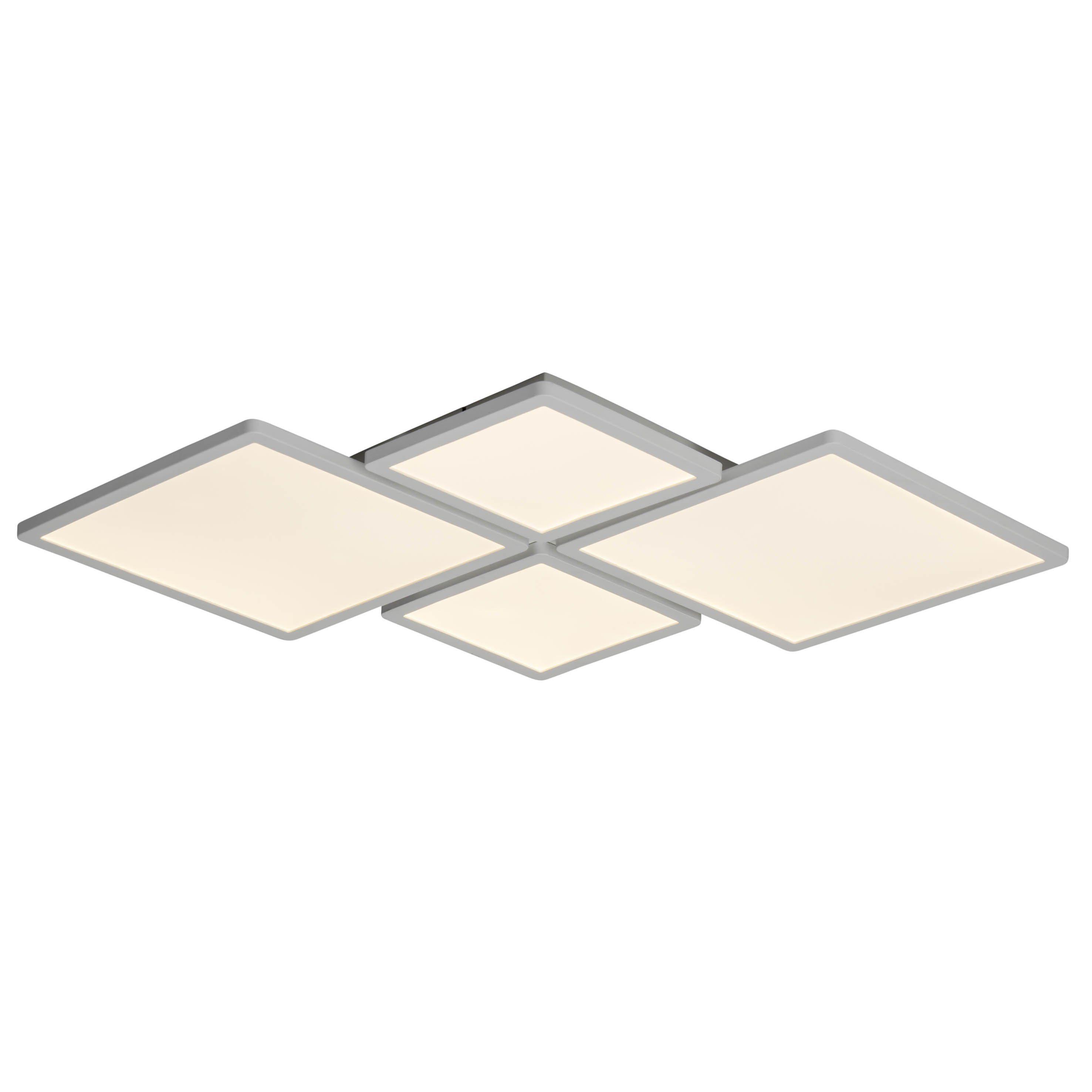 Brilliant Leuchten Scope LED Deckenaufbau-Paneel 61x61cm weiß matt easyDim