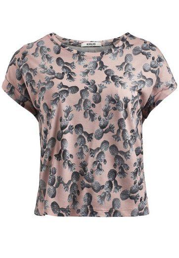 khujo T-Shirt MILDA AOP PRINT