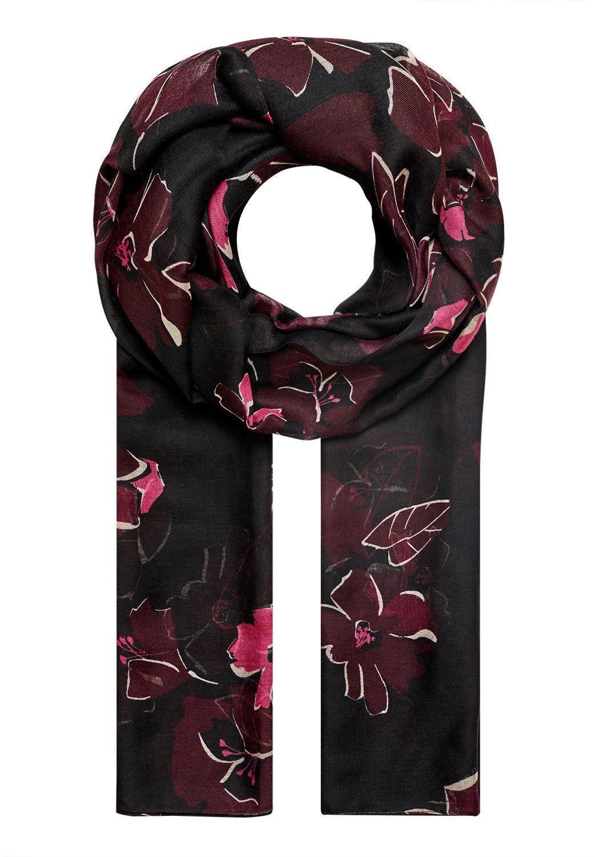 HALLHUBER Schal mit Flower-Print