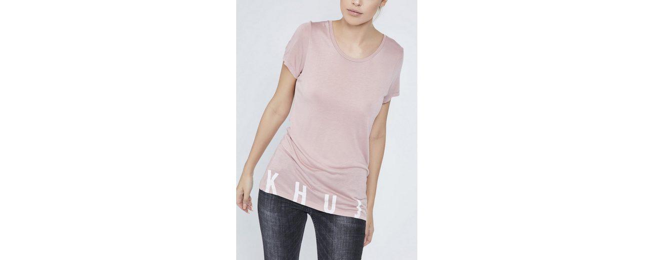 Webseite Zum Verkauf khujo T-Shirt ETTA Schnell Express Günstig Kaufen Veröffentlichungstermine szllu1wz