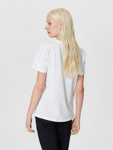 Selected Femme Print- T-Shirt