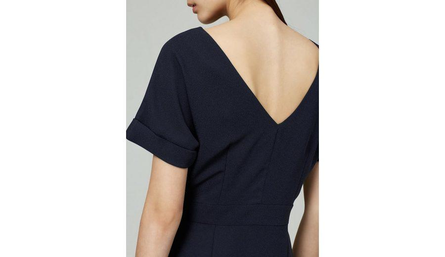 Selected Femme V-Ausschnitt- Kleid mit kurzen Ärmeln Auslassstellen Günstig Online Verkauf Manchester Großer Verkauf Erkunden Günstigen Preis SsjkbIy