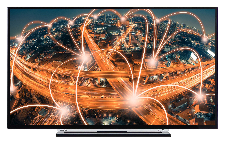 Toshiba LED-Fernseher (49 Zoll, Full HD, Smart TV, Triple-Tuner) »49L3763DA«