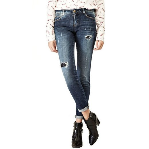 Guess JEANS CURVE X ABRIEBSTELLEN
