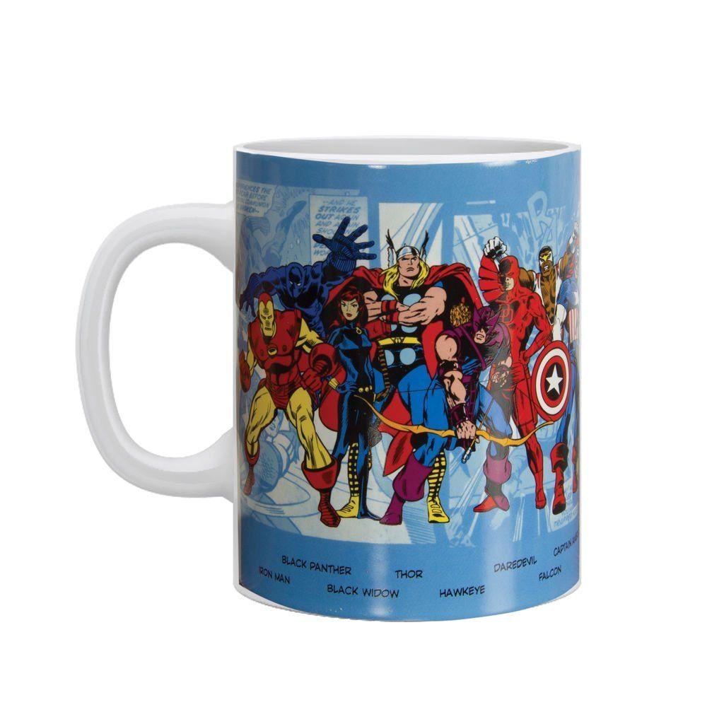 Paladone Fanartikel »Marvel Comics Charaktere Becher (550 ml)«