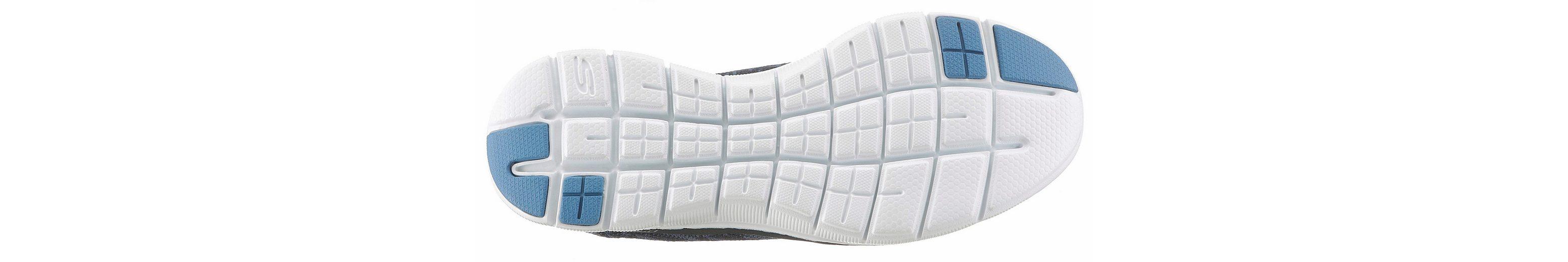 Skechers Flex Appeal 2.0 Insights Slipper, mit Air-Cooled Memory Foam