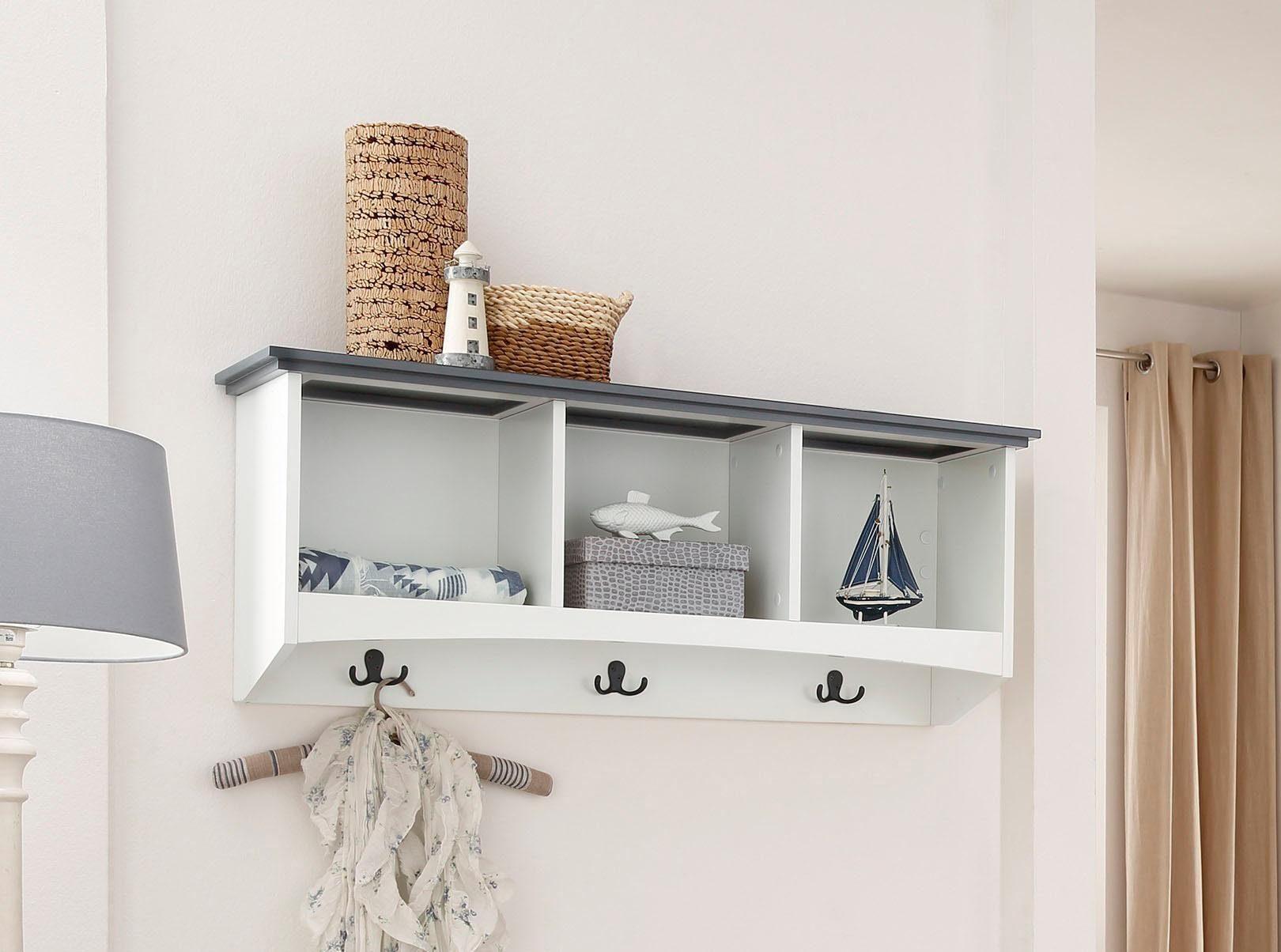 Home affaire Wandregal »Jersey« aus FSC®-zertifiziertem Holzwerkstoff
