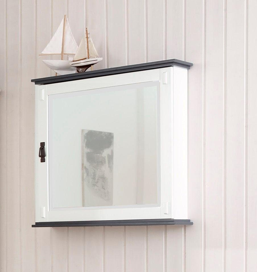 Home affaire Spiegelschrank »Jersey«, mit 9 Schlüsselhaken hinter der Spiegeltür