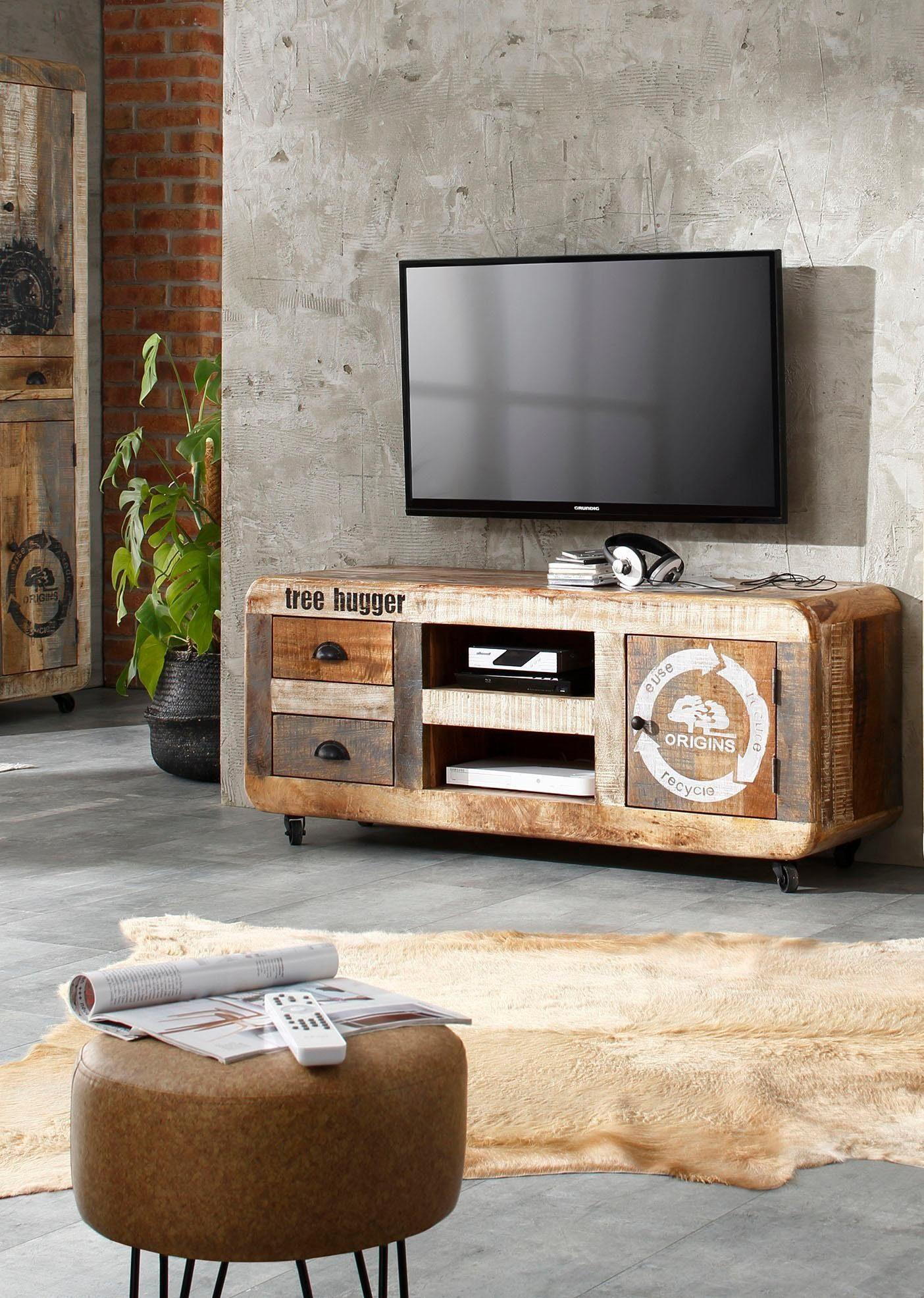 Home affaire TV-Lowboard »Bully«, Breite 135 cm