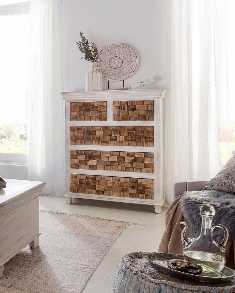 the wood times kommode bricks breite 90 cm otto. Black Bedroom Furniture Sets. Home Design Ideas