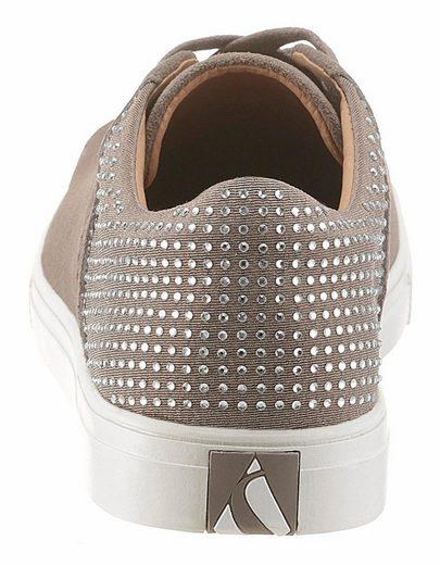 Skechers Moda Back Lit Sneaker, With Sparkling Steinchen