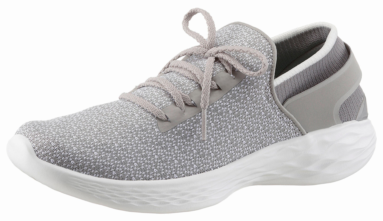 SKECHERS PERFORMANCE »YOU-Inspire« Sneaker, mit GoGa Max-Technology, grau, 41 41