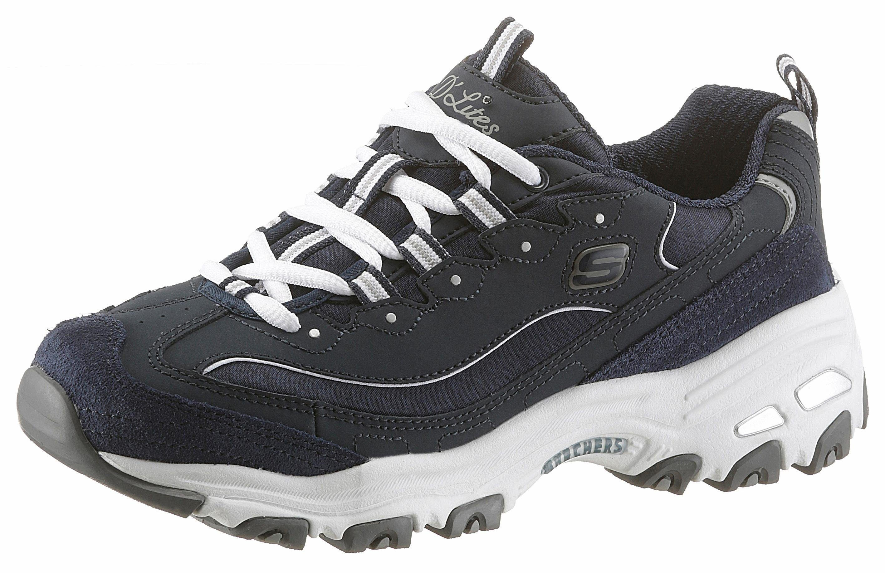 Skechers D'Lites me Time Sneaker, mit Memory Foam online kaufen  navy-weiß