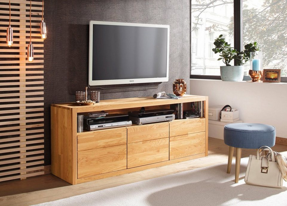 home affaire lowboard una breite 157 cm kaufen otto. Black Bedroom Furniture Sets. Home Design Ideas