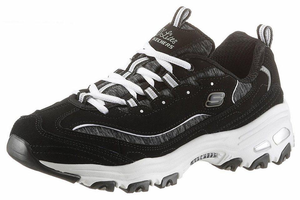 buy online 8e6f0 635ed Skechers »D'Lites me Time« Sneaker mit Memory Foam | OTTO