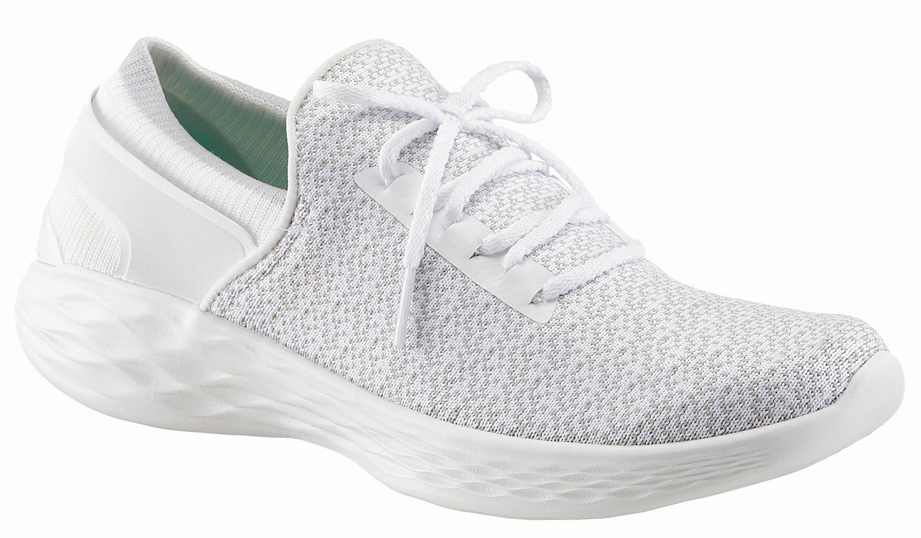 SKECHERS PERFORMANCE »YOU-Inspire« Sneaker, mit GoGa Max-Technology, beige, 39 39