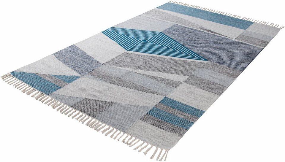 Orientteppich modern  Orientteppich »Modern Kelim«, Tom Tailor, rechteckig, Höhe 5 mm ...