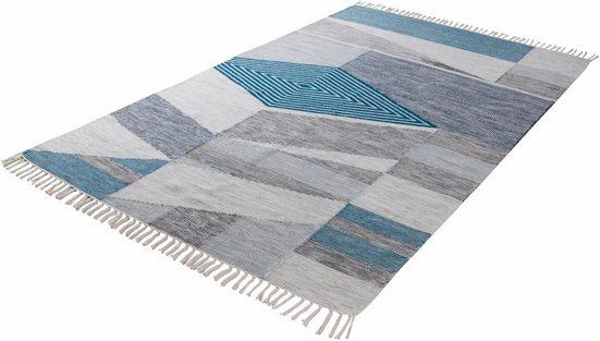Orientteppich »Modern Kelim«, TOM TAILOR, rechteckig, Höhe 5 mm, Flachgewebe