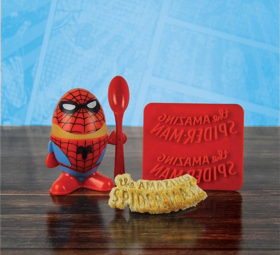 Paladone Fanartikel »Marvel Comics Spiderman Eierbecher & Toastschneide«