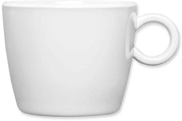 Q Squared NYC Cappuccinotasse »Coffee Break Collection«, Melamin, 6-teilig