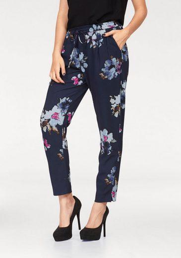 Vero Moda Webhose BALI, mit Allover-Blumenprint und Kordelband