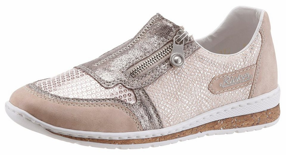 Rieker Sneaker mit Pailletten-Besatz online kaufen   OTTO 3c2b5de7f4