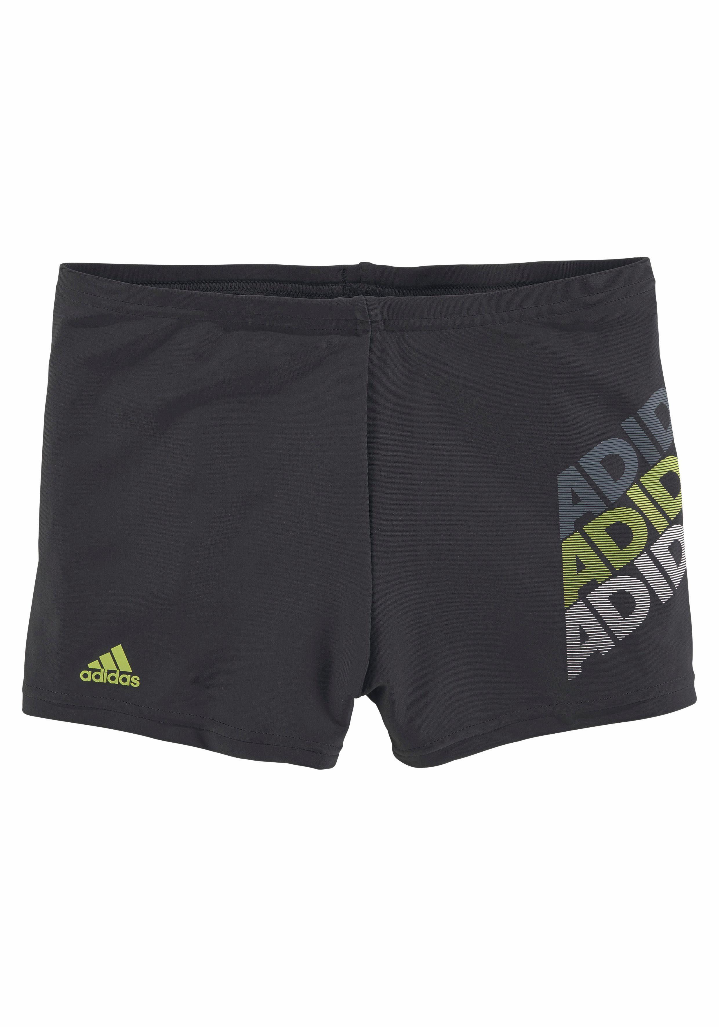 adidas Performance Boxer-Badehose »Mika«, mit Logoschriftzügen ...