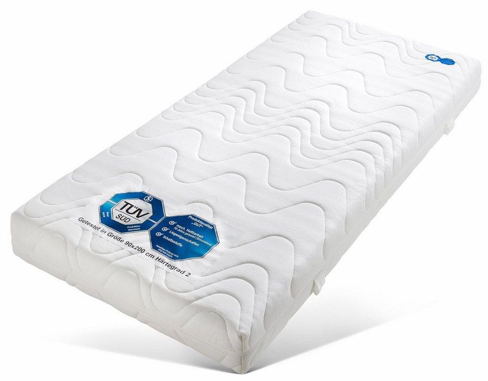 Komfortschaummatratze Wellness KS Beco 20 Cm Hoch Raumgewicht 28