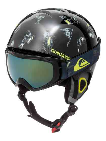 Quiksilver Snowboard Helm und Goggle-Set »The Game«