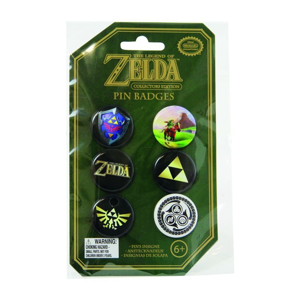 Paladone Fanartikel »Zelda The Legend Of Zelda Buttons«
