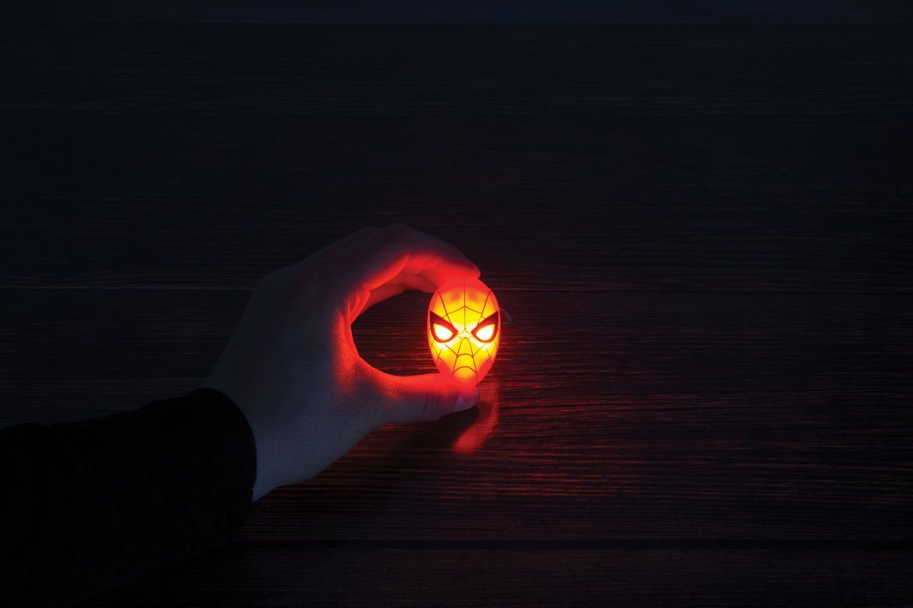 Paladone Fanartikel »Spiderman Schlüsselanhänger mit Taschenlampe«