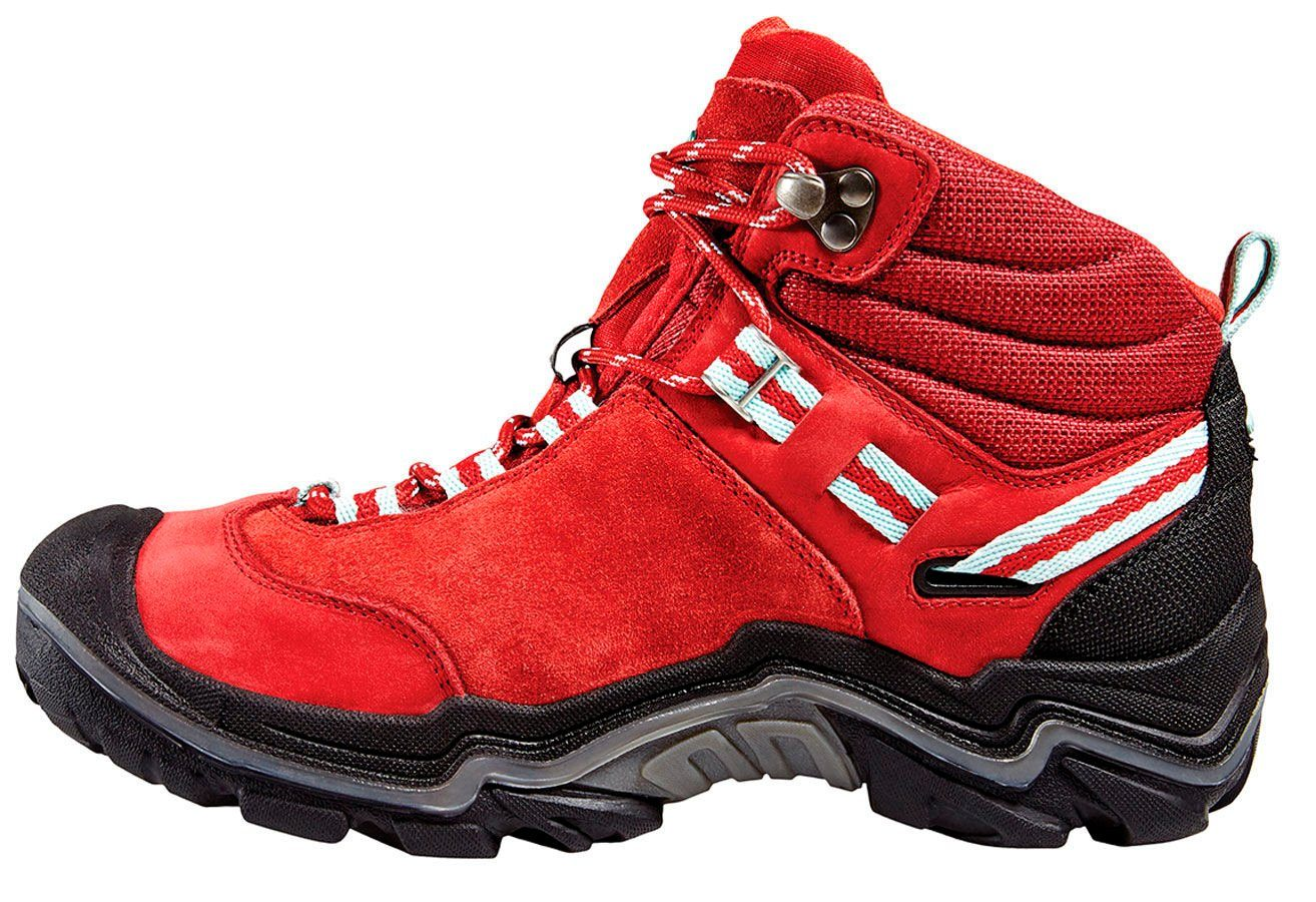 Keen Kletterschuh Wanderer Mid WP Shoes Women  rot