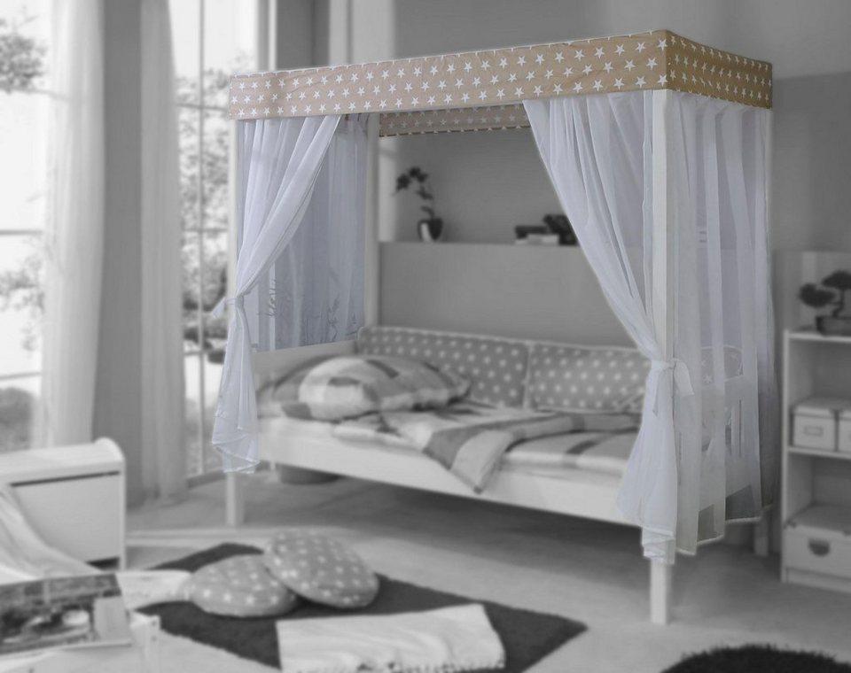 ticaa t ll set f r einzel himmelbett lino otto. Black Bedroom Furniture Sets. Home Design Ideas