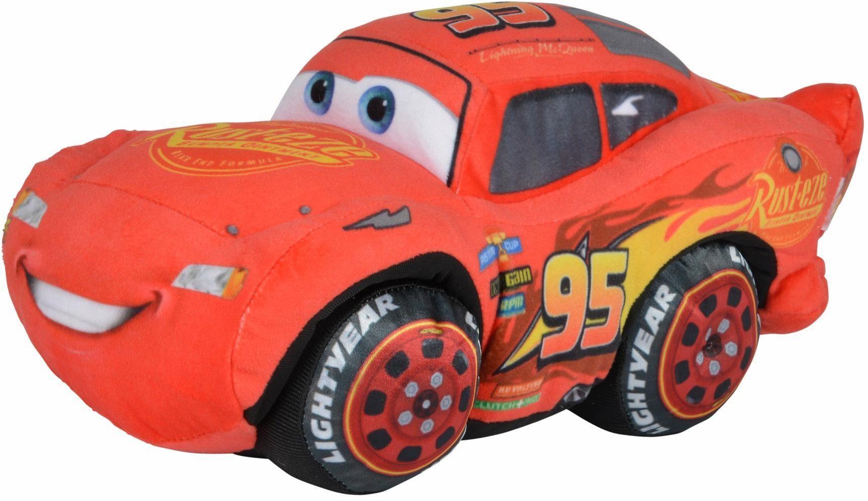 Simba Plüschauto mit Sound, »Disney Pixar Cars 3, McQueen mit Sound«