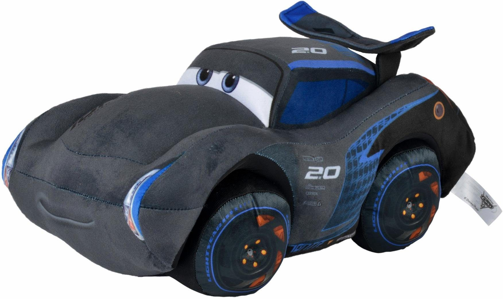 Simba Plüschauto, »Disney Pixar Cars 3, Jackson Storm, 45 cm«
