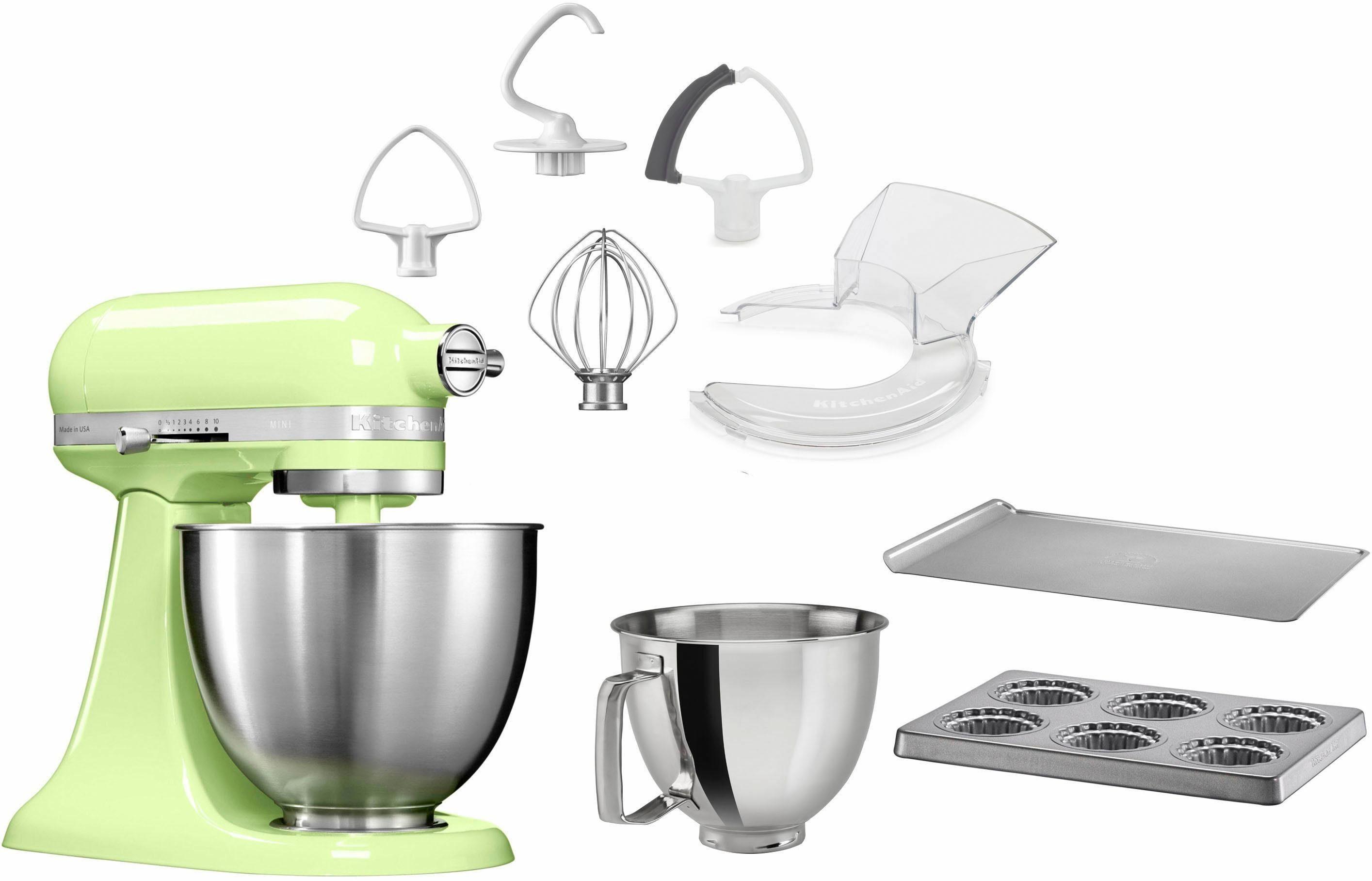 KitchenAid Küchenmaschine Mini 5KSM3311XEHW, 250 W, 3,3 l Schüssel, mit Sonderzubehör im Wert von 246,-€ UVP