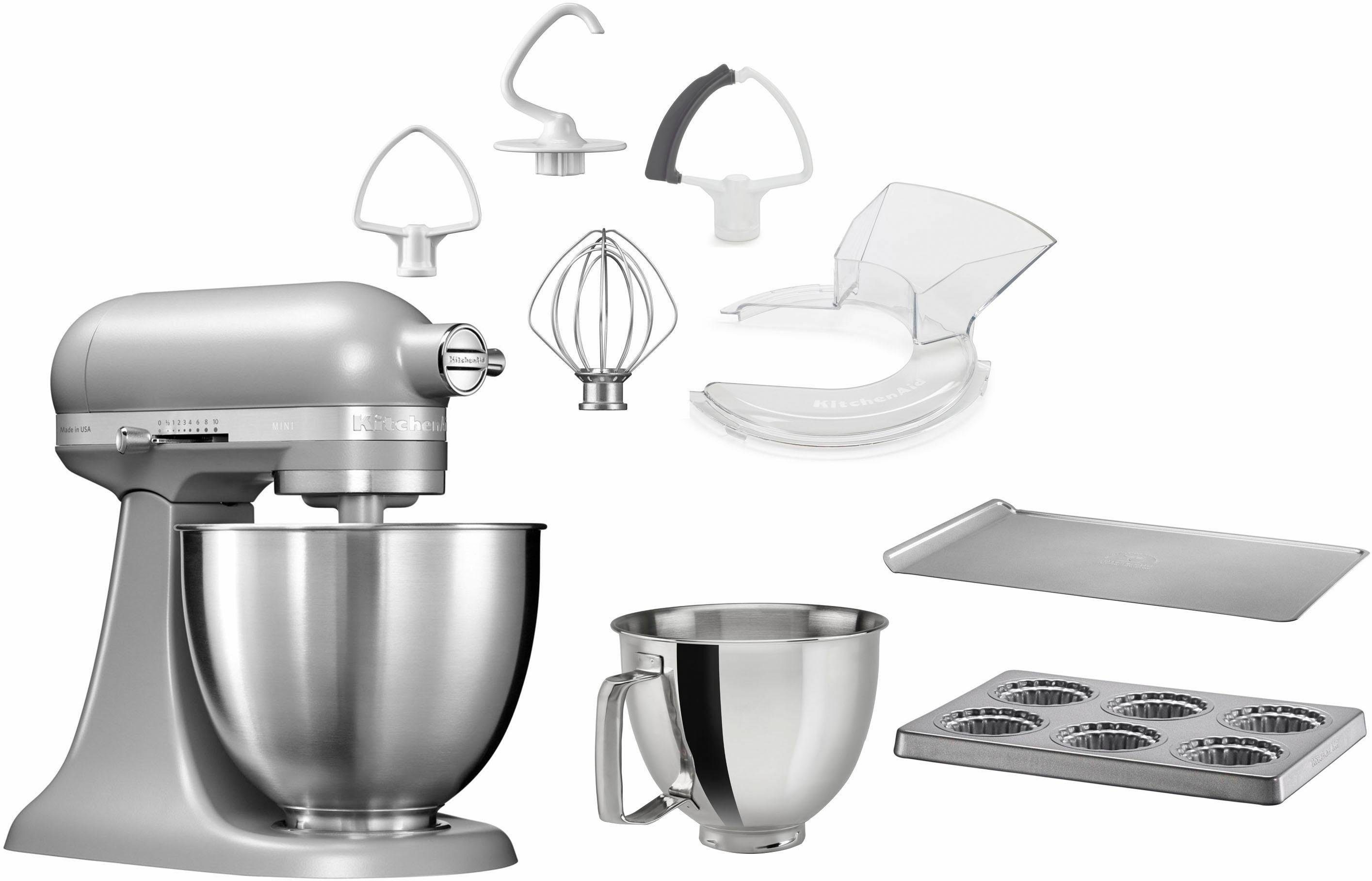 KitchenAid Küchenmaschine Mini 5KSM3311XEFG, 250 W, 3,3 l Schüssel, mit Sonderzubehör im Wert von 246,-€ UVP