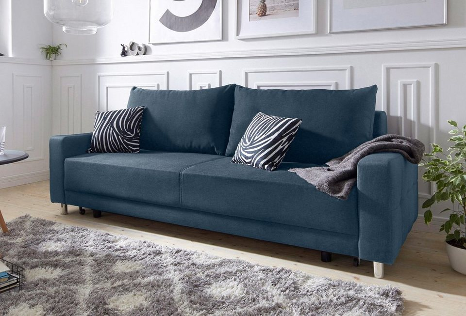 schlafcouch blau gallery of awesome schlafsofa in blau textil design holztextil with schlafsofa. Black Bedroom Furniture Sets. Home Design Ideas